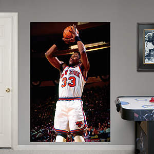 Patrick Ewing Mural Fathead Wall Decal