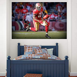 Frank Gore In Your Face Mural Fathead Wall Decal