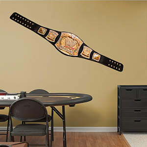 WWE Title Belt Fathead Wall Decal