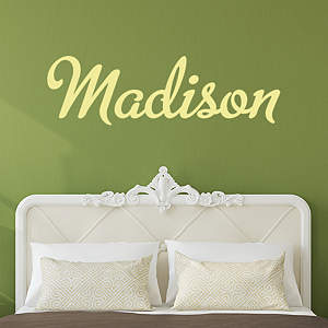Personalized Transfer Wall Decals