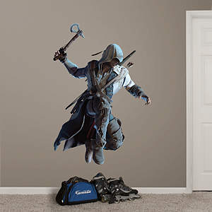 Connor Leaping: Assassin's Creed III Fathead Wall Decal