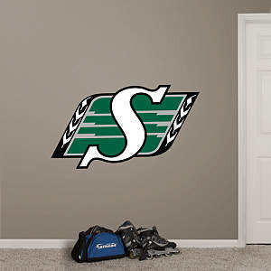 Saskatchewan Roughriders Logo Fathead Wall Decal