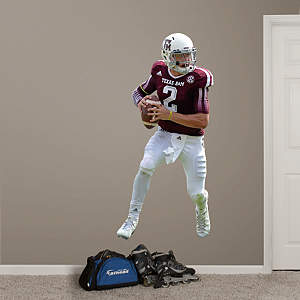 Johnny Manziel - Texas A&M Fathead Wall Decal