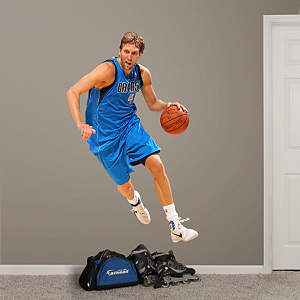 Dirk Nowitzki - No. 41 Fathead Wall Decal