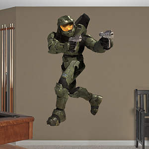 Classic Master Chief: Halo Fathead Wall Decal