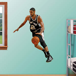 Tim Duncan No. 21 Fathead Wall Decal