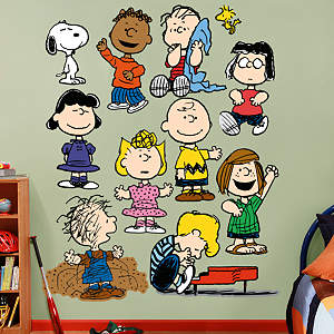 Peanuts Gang Nursery Fathead Wall Decal