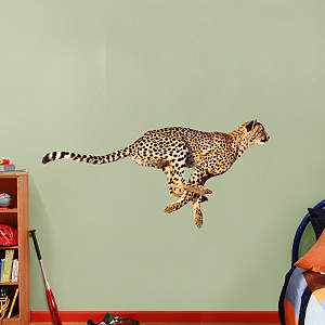 Cheetah Fathead Wall Decal