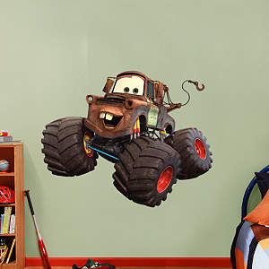 Mater - Monster Truck Fathead Wall Decal