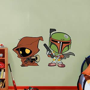 Boba Fett & Jawa POP! Fathead Wall Decal