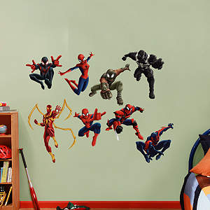 Ultimate Spider-Man Web Warriors Collection Fathead Wall Decal