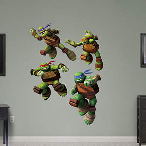 TMNT - Turtle Power Collection Fathead Wall Decal