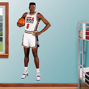 Patrick Ewing: 1992 Dream Team Fathead Wall Decal