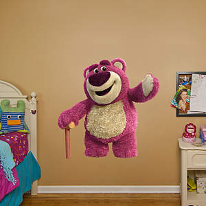 Lotso: Toy Story 3 Fathead Wall Decal