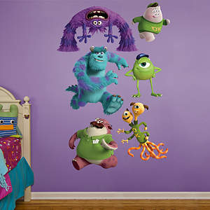 Monsters University Collection Fathead Wall Decal