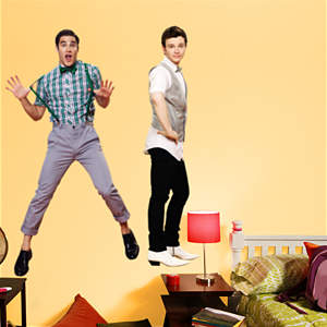 Kurt and Blaine Fathead Wall Decal