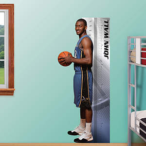 John Wall Growth Chart Fathead Wall Decal