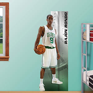 Rajon Rondo Growth Chart Fathead Wall Decal