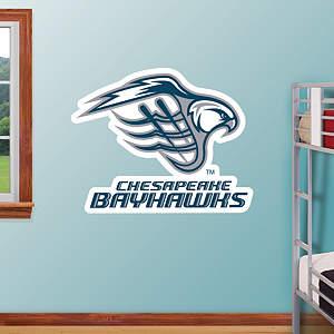 Chesapeake Bayhawks Logo Fathead Wall Decal