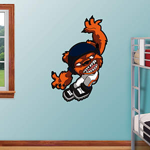 Chicago Bears Rusher Fathead Wall Decal