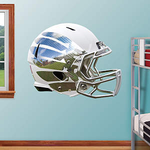Oregon Ducks White Vapor Helmet Fathead Wall Decal