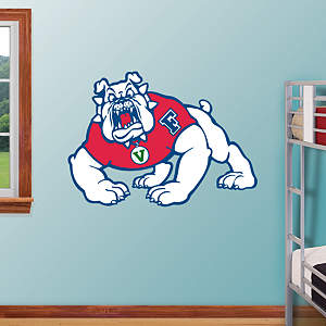 Fresno State Bulldogs Logo Fathead Wall Decal