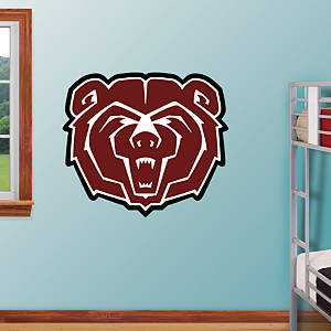 Missouri State Bears Logo Fathead Wall Decal