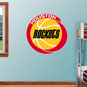Houston Rockets Classic Logo Fathead Wall Decal
