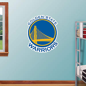 Golden State Warriors Logo Fathead Wall Decal