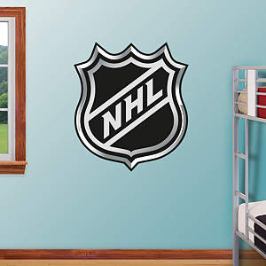 NHL Logo Fathead Wall Decal