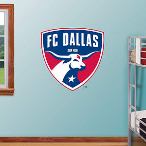 FC Dallas Logo Fathead Wall Decal