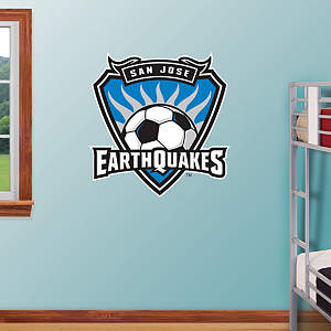 San Jose Earthquakes Classic Logo Fathead Wall Decal