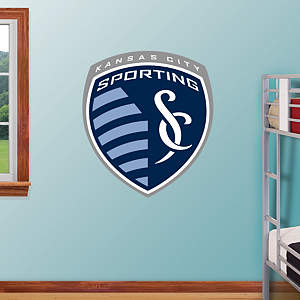 Sporting Kansas City Logo Fathead Wall Decal