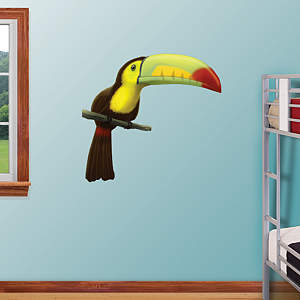 Toucan Fathead Wall Decal