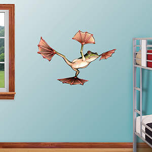 Flying Frog Fathead Wall Decal