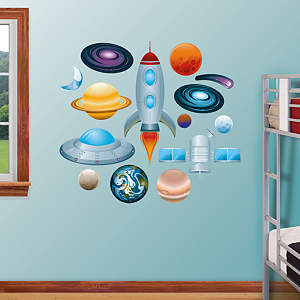 Outer Space Collection Fathead Wall Decal