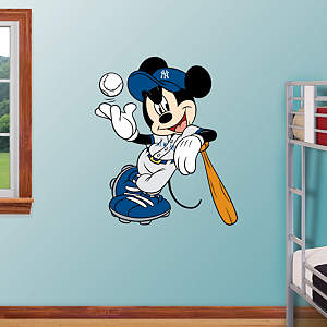 Mickey Mouse - New York Yankee Fathead Wall Decal