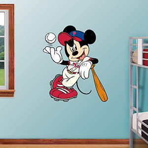 Mickey Mouse - Philadelphia Phillie Fathead Wall Decal