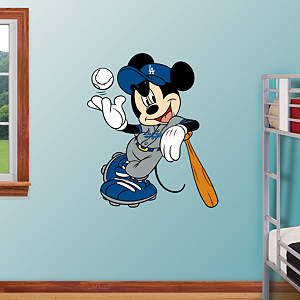 Mickey Mouse - Los Angeles Dodger Fathead Wall Decal