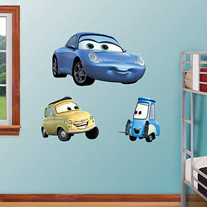 Sally, Luigi & Guido Fathead Wall Decal