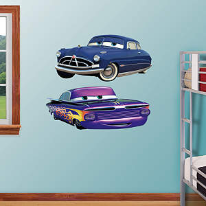 Doc & Ramone Fathead Wall Decal