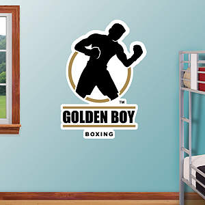 Golden Boy Logo Fathead Wall Decal