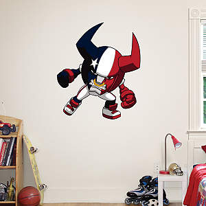 Houston Texans Rusher Fathead Wall Decal