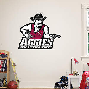 New Mexico State Aggies Logo Fathead Wall Decal