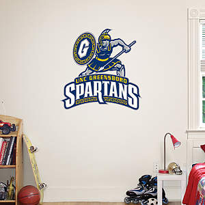 UNC Greensboro Spartans Logo Fathead Wall Decal