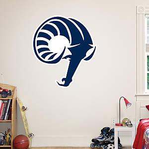 Rhode Island Rams Logo Fathead Wall Decal
