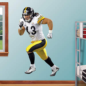 Troy Polamalu - Away Fathead Wall Decal