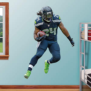 Marshawn Lynch Fathead Wall Decal