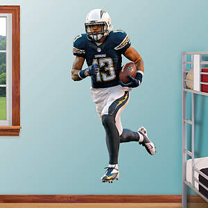 Keenan Allen Fathead Wall Decal