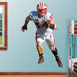 Chris Borland - Wisconsin Fathead Wall Decal